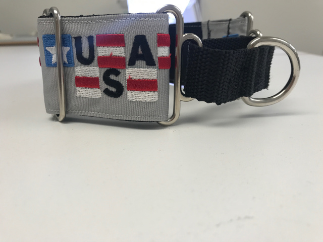 USA Patriotic Collar